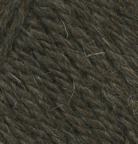 Пряжа Деревенька т.коричневый