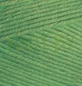 Пряжа Alize Bella зелёный