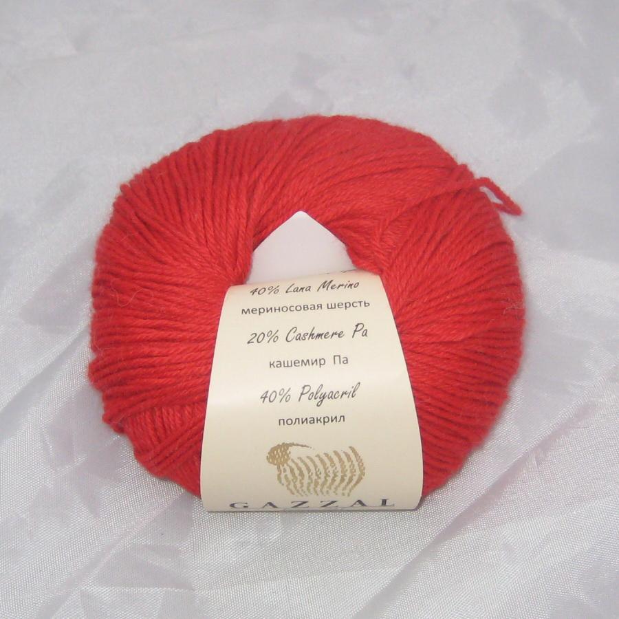 Пряжа Baby Wool Gazzal красный