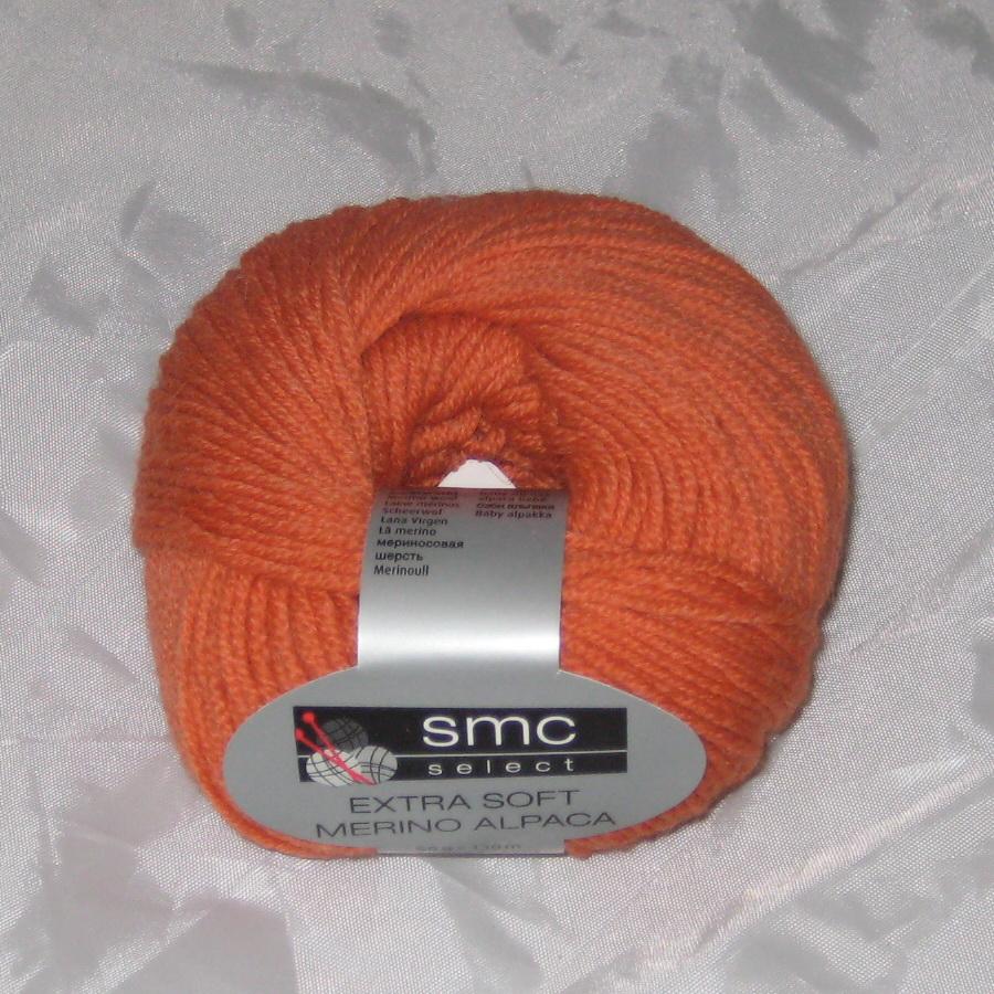 Пряжа Extra Soft Merino Alpaca апельсин