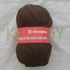 Пряжа Мериносовая коричневый