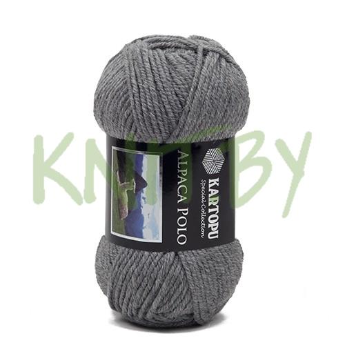 Пряжа Alpaca polo серый