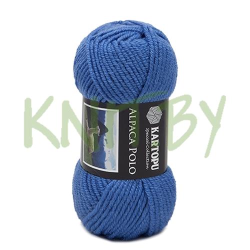 Пряжа Alpaca polo сине-голубой