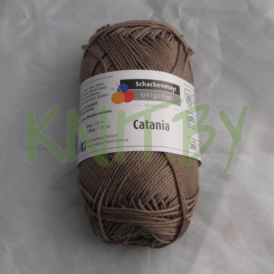 Пряжа Catania серо-коричневый