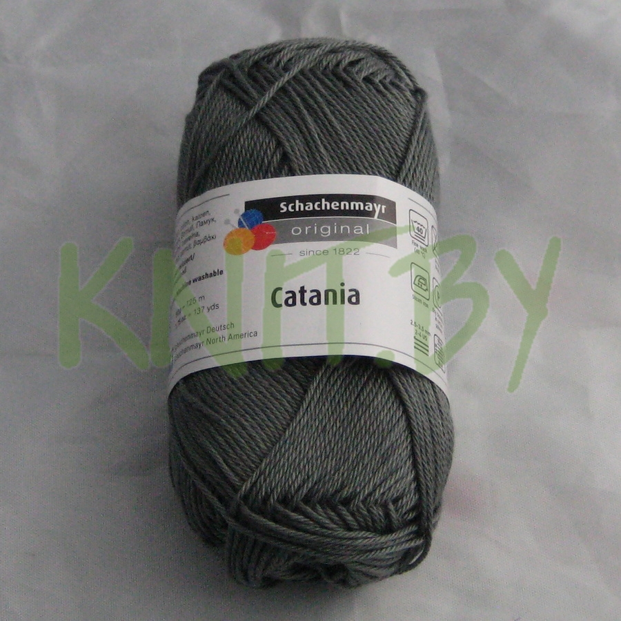 Пряжа Catania темно-серый