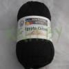 Пряжа Egypto cotton чёрный