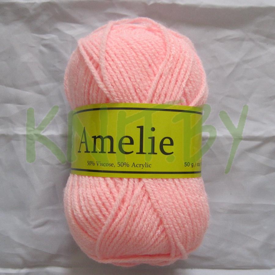 Пряжа Amelie светло-розовый