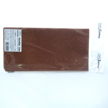 Канва GAMMA Aida №14 коричневый