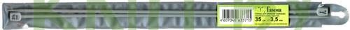 """Спицы прямые """"GAMMA"""" 3.5, длина 35 см"""