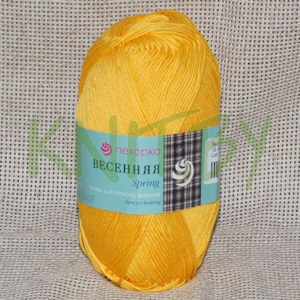 Пряжа Весенняя желток