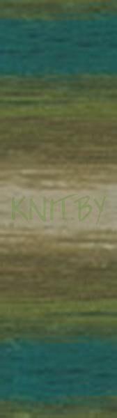 Пряжа Angora Gold BATIK DESIGN бирюзово-изумрудный