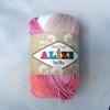 Пряжа Alize Bella batik розово-бежевый оттенок