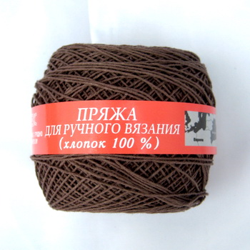 Пряжа Гронитекс пряжа №20/4 коричневый