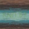 Пряжа Angora Gold BATIK DESIGN бирюзово-коричнево-белый