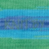 Пряжа Alize Bella batik бирюзово-зелено-желтый оттенок