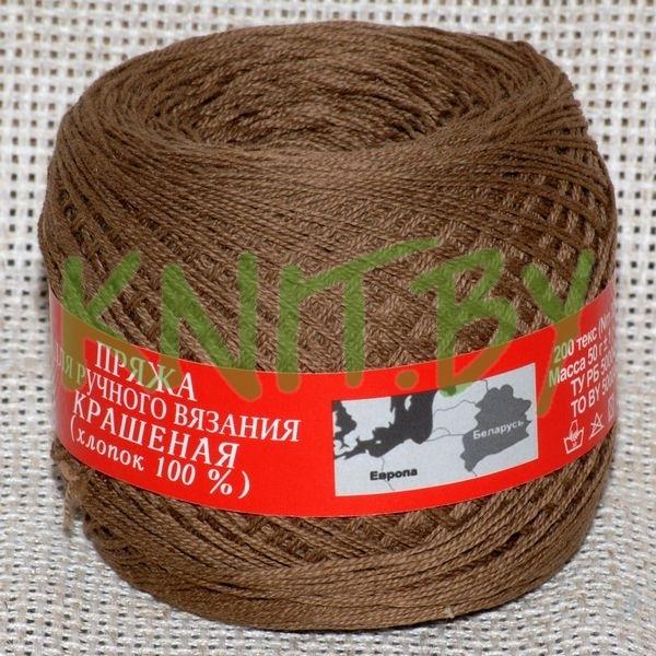 Пряжа Гронитекс пряжа №20/4 темно-коричневый