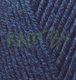 Пряжа Lanagold Fine темно-синий