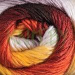 Пряжа Magic Fine оранжево-желтые оттенки