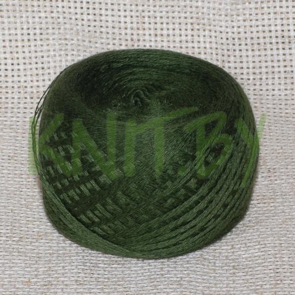 Пряжа Слонимский хлопок т.зеленый