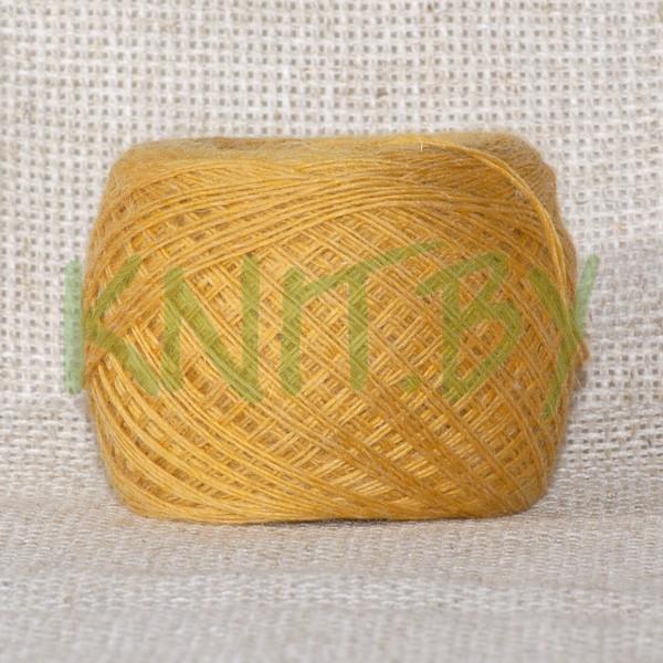 Пряжа Слонимская ПШ 50/50 м. темное золото