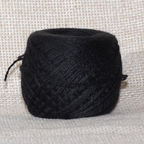 Пряжа Слонимская ПШ чёрный