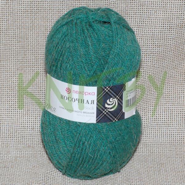 Носочная зелёно-изумрудный