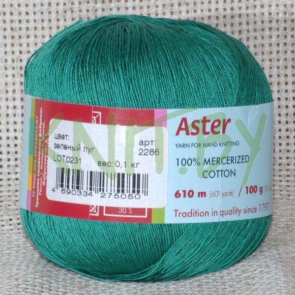 Пряжа Астра зелёный луг