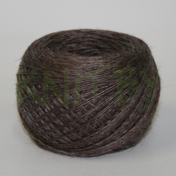Пряжа Слонимская ПШ 50/50 т.коричневый