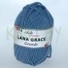 Пряжа Lana Grace Grand пепельно-голубой