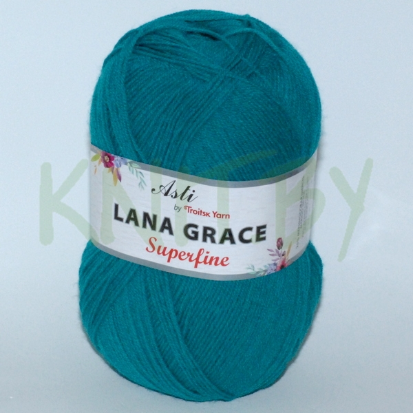 Пряжа Lana Grace Superfine изумруд