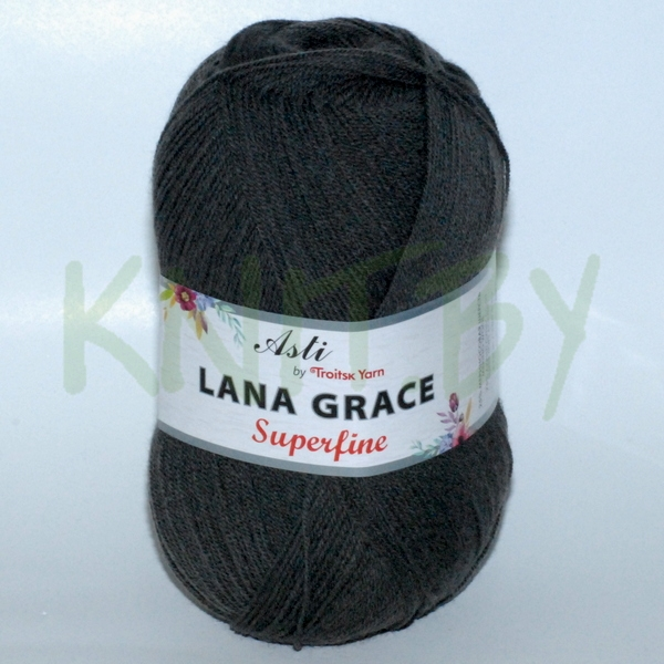 Пряжа Lana Grace Superfine маренго