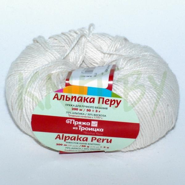 Пряжа Альпака Перу суровый
