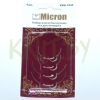 """Иглы для шитья ручные """"Micron"""" изогнутые для пэчворка"""