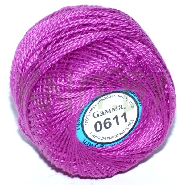 Пряжа Ириска Гамма ярко-фиолетовый