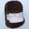 Пряжа Альпака шикарная коричневый