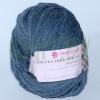 Пряжа Альпака шикарная серо-голубой
