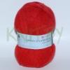 Пряжа Ангорская теплая красный мак