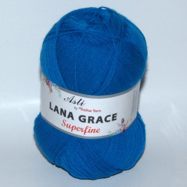 Пряжа Lana Grace Superfine темная бирюза