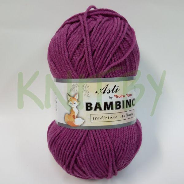 Пряжа BAMBINO нежная сирень