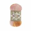 Пряжа Alize Bella batik оранжево-розовый оттенок