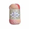 Пряжа Alize Bella batik яр.коралл - бежевый оттенок