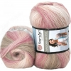 Пряжа Angora Active бежево-розовые оттенки