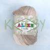 Пряжа Alize Bella batik серо-темно-коричневый оттенок