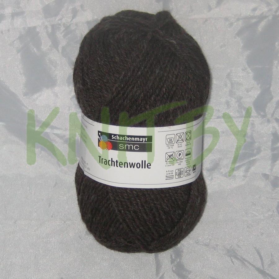 Пряжа Trachtenwolle коричневый