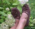 Тапочки-цветочки