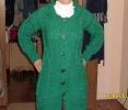 Зелёное пальто