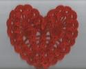 Панно из вязаных сердец ко Дню влюбленных 2014г.